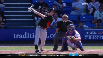 Top prospect Yelich practicing patience on DL