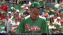 Halladay exits after one inning