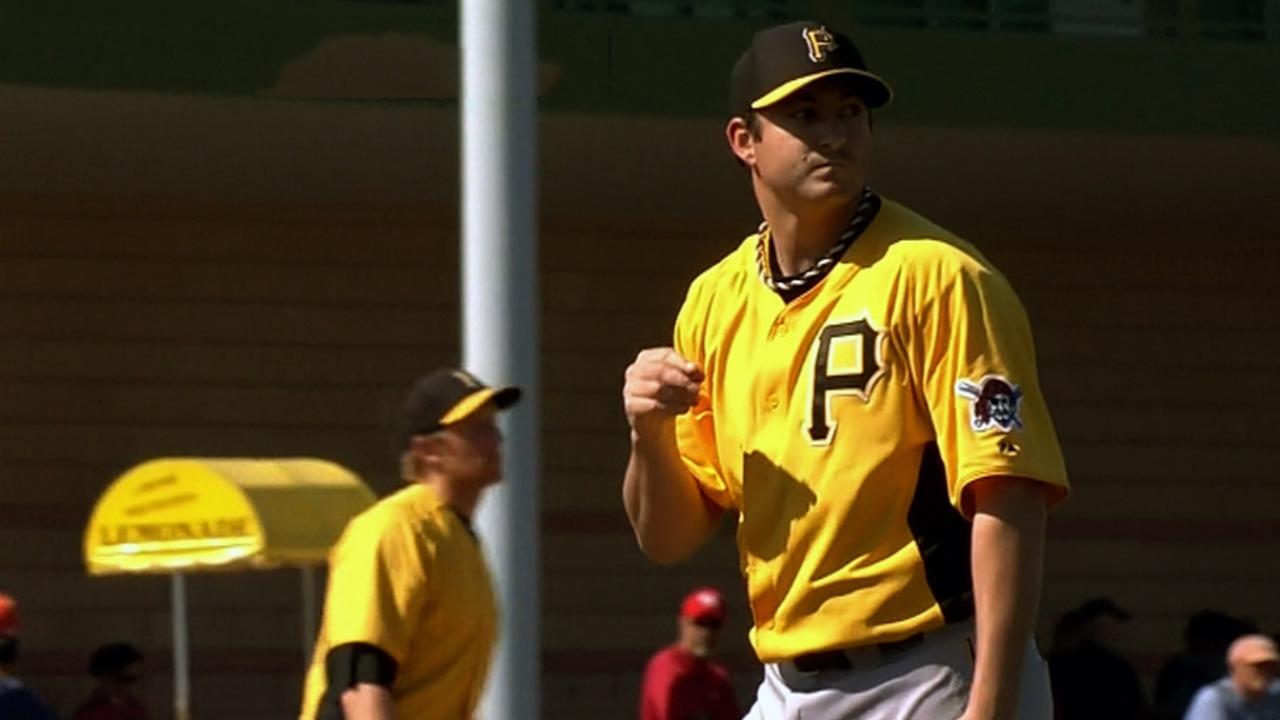 Morris, De Jesus among Pirates' roster cuts