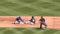 Castillo throws out Cespedes