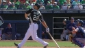 Ibanez&#039;s two-run shot