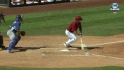 Hill's two-run single