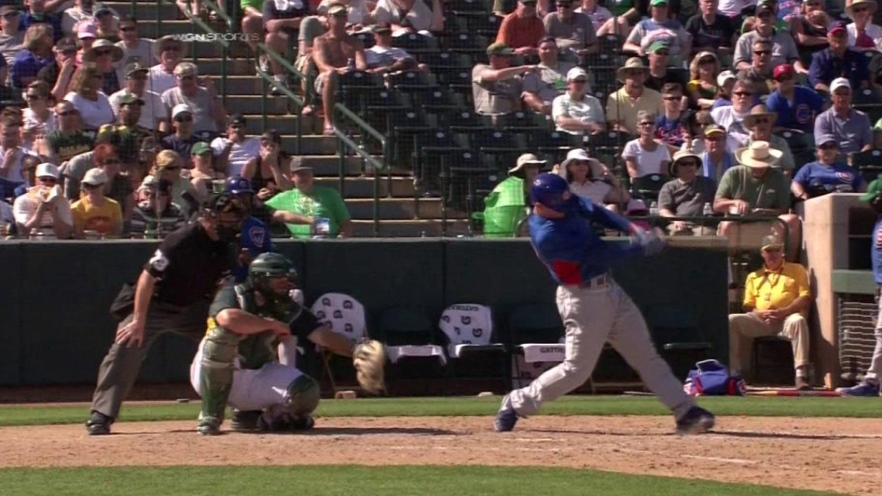 Sappelt does some damage vs. A's, but not enough