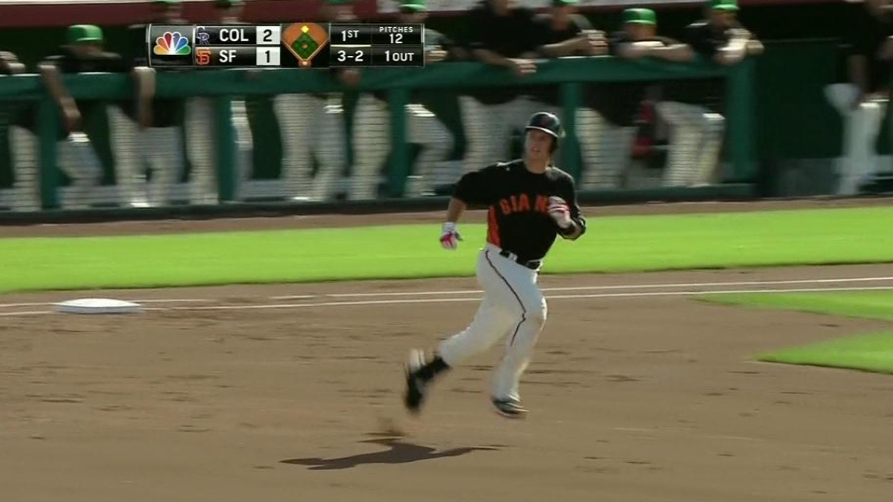Star on the field, Posey a class act off it