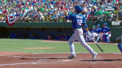 Slugging prospect Gallo works out with two All-Stars