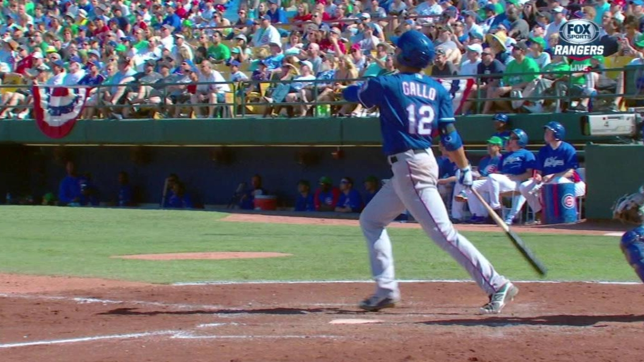 Gallo enjoys big league weekend in hometown