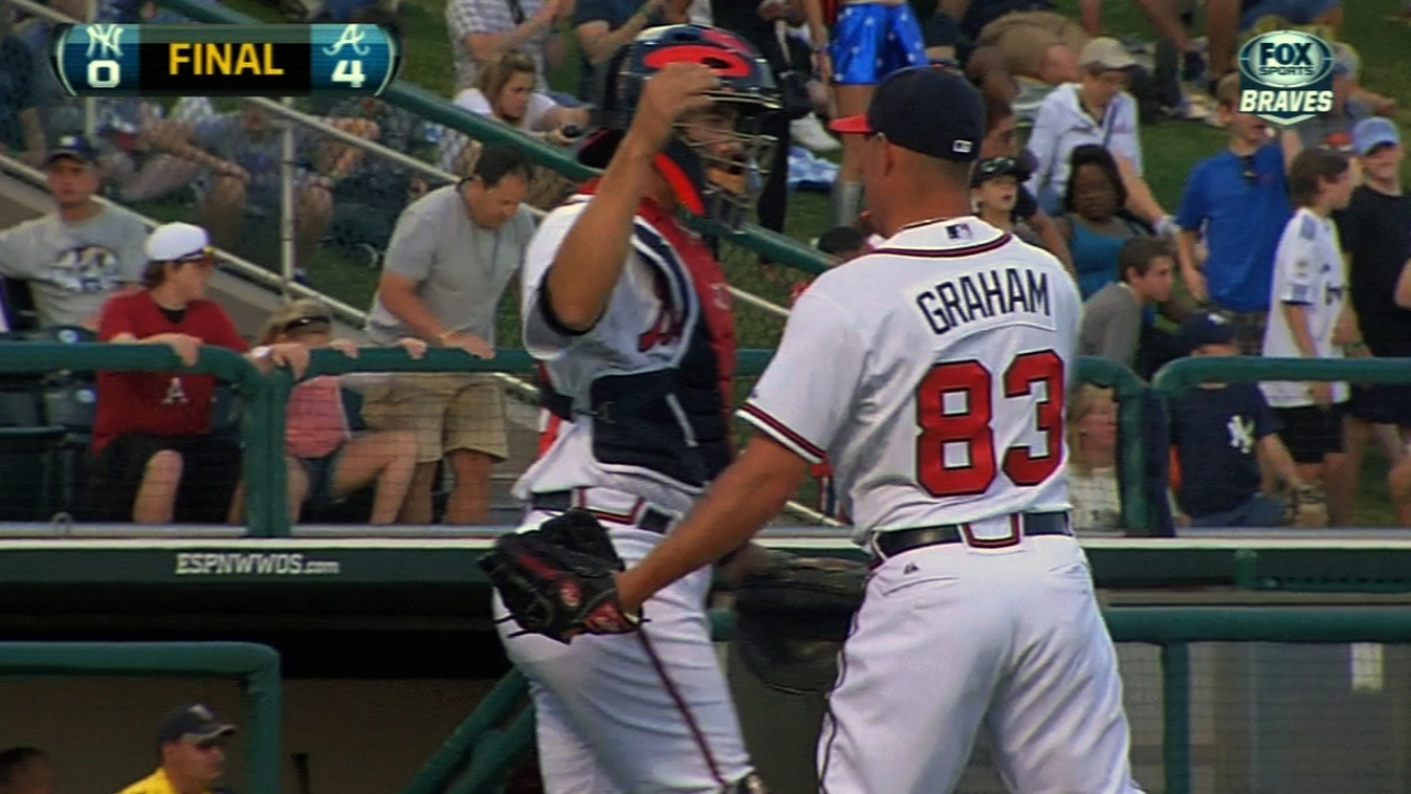 Graham fine with starting season at Double-A