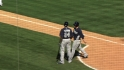 Gyorko, Hundley hitting in loss