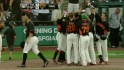 Gillespie's walk-off shot