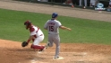 Brown's RBI single