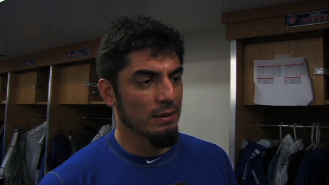 Garza, Cubs pleased with latest rehab start