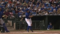 Kinsler&#039;s long two-run shot