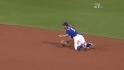 Kinsler, Andrus turn two slickly