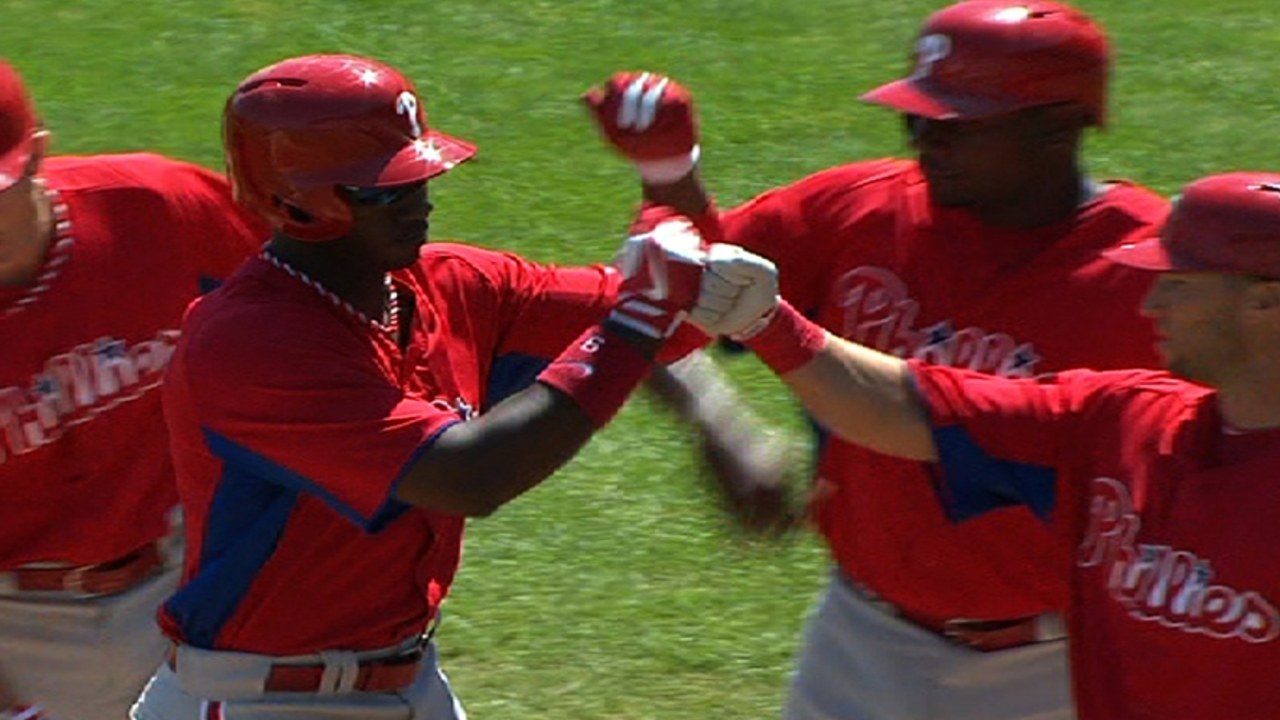 Brown, Kendrick lead Phillies past Yankees