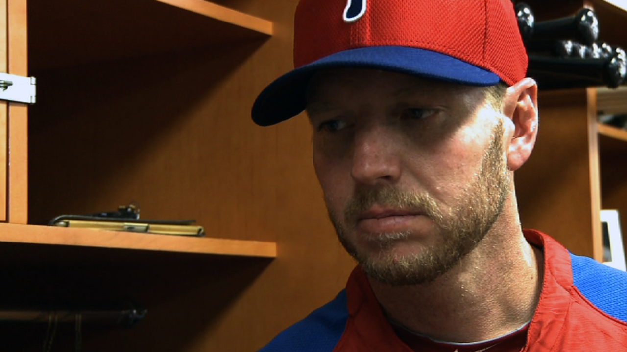 Halladay feels he's 'going in right direction'