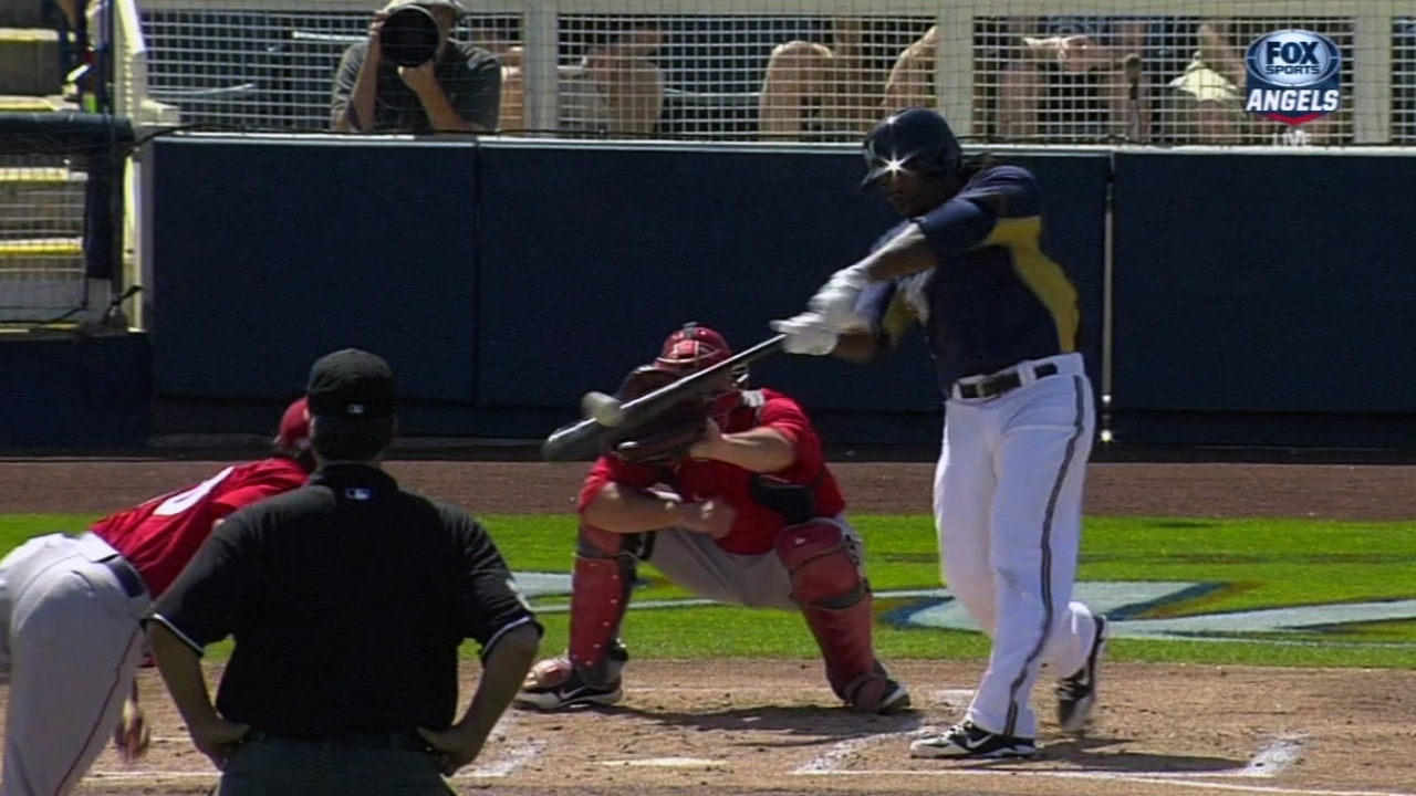 Weeks, Aramis, Halton homer to back Peralta