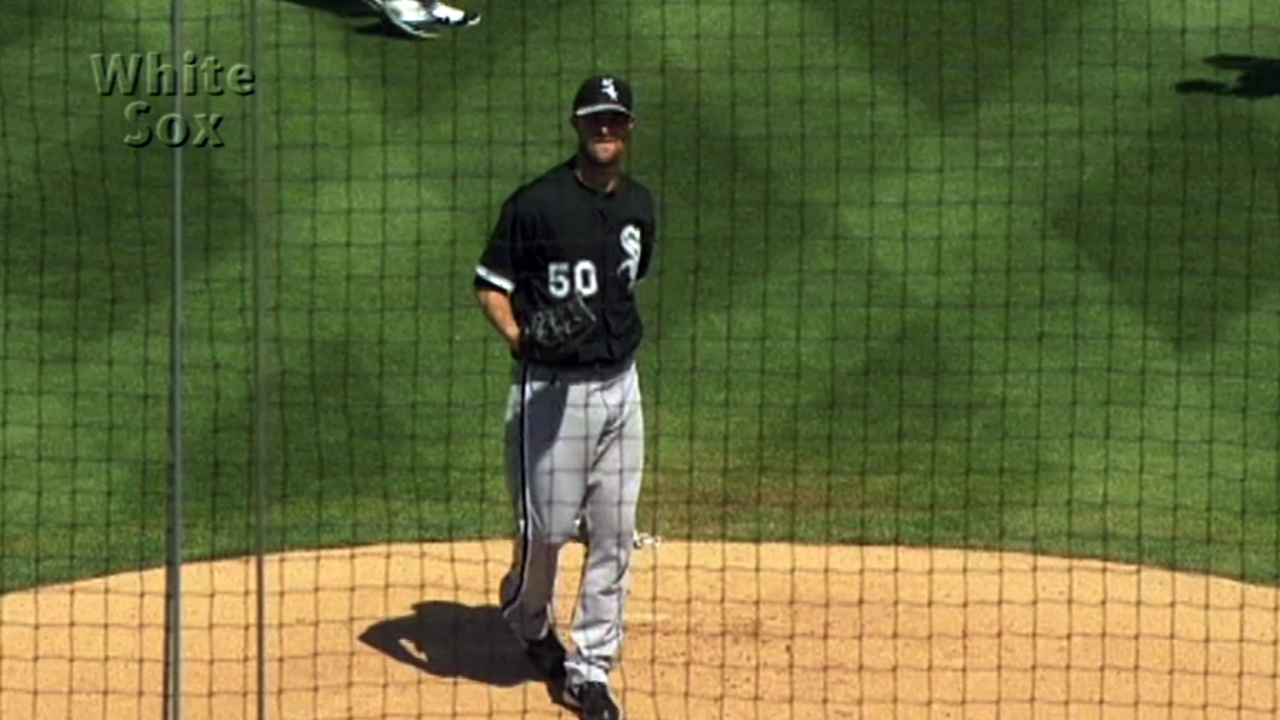 Danks' first Minors rehab start to come Thursday