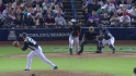 Crawford connects for RBI triple