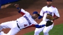 Tejada's catch ends inning
