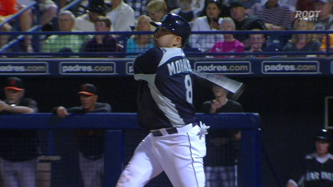 Maurer impresses as Mariners top Giants