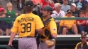 McKenry&#039;s tough catch