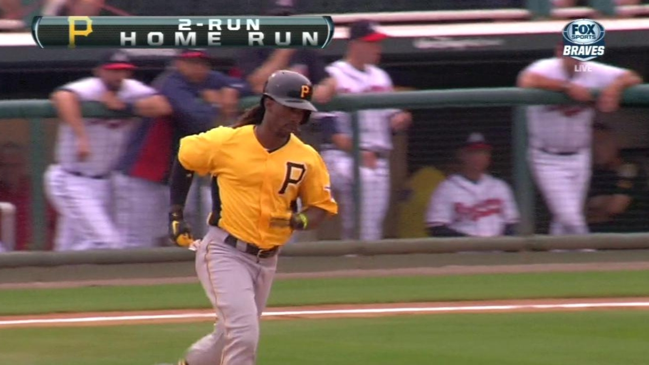 McCutchen hits second home run of spring