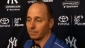 Cashman on Jeter's injury
