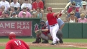 Harris' RBI double
