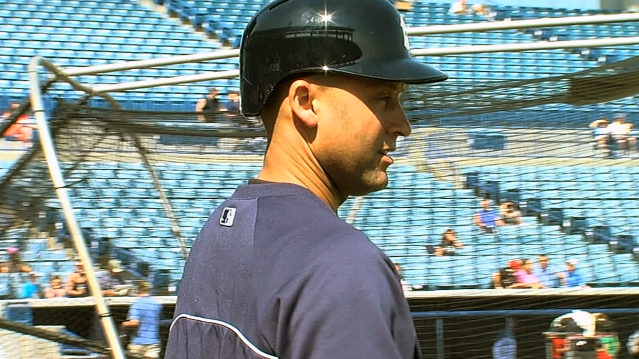 Jeter will be kept out of MLB spring games