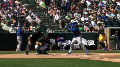 Baez puts on 'quite a show' with offensive performance