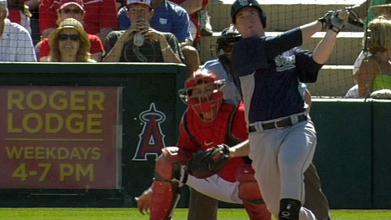 Gyorko getting familiar with NL West arms