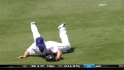 Baxter's diving grab