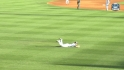 Fielder scores on double play