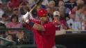 Pujols&#039; solo shot
