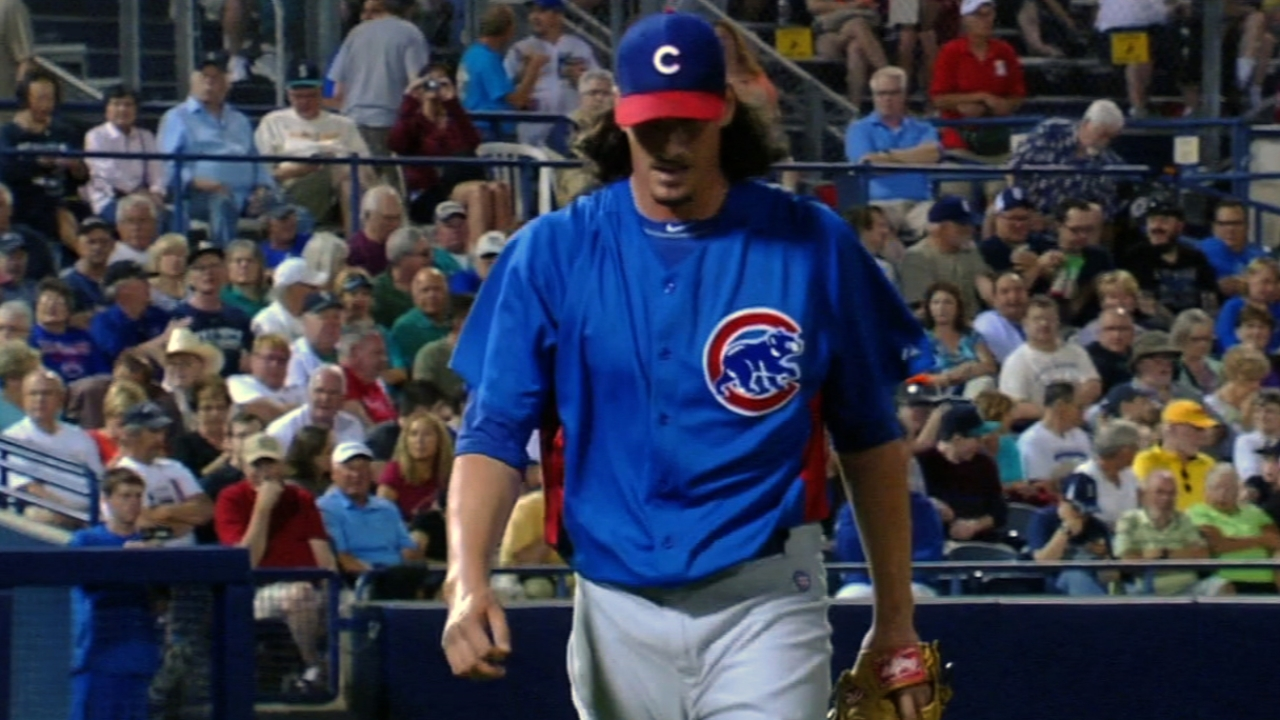 Fulfilling potential, Samardzija ready for Opening Day