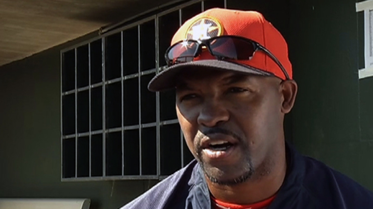 Porter excited for Astros to kick off 2013