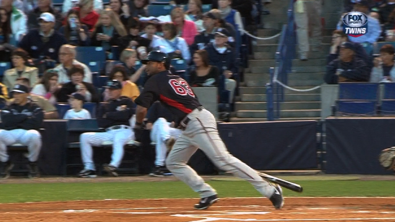 Gardenhire has several possibilities to bat second