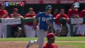 Hosmer's three-run homer