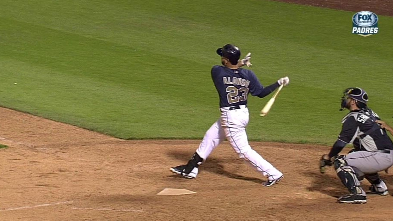Alonso homers, Ross solid as Padres edged