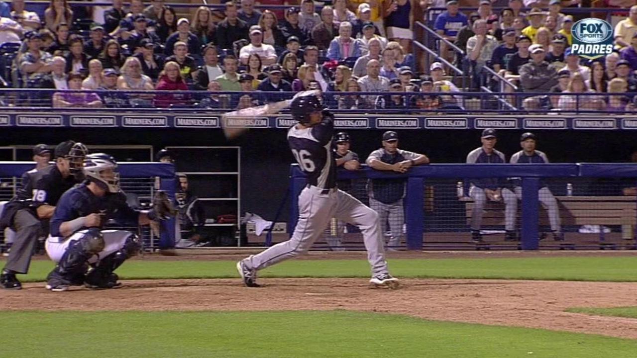 Felix dominates with nine K's vs. Padres