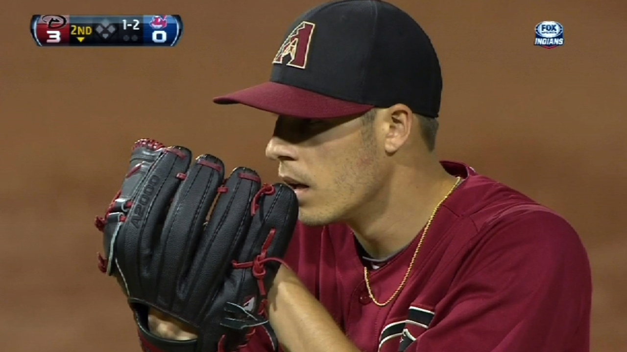 Corbin solid in bid for D-backs' rotation