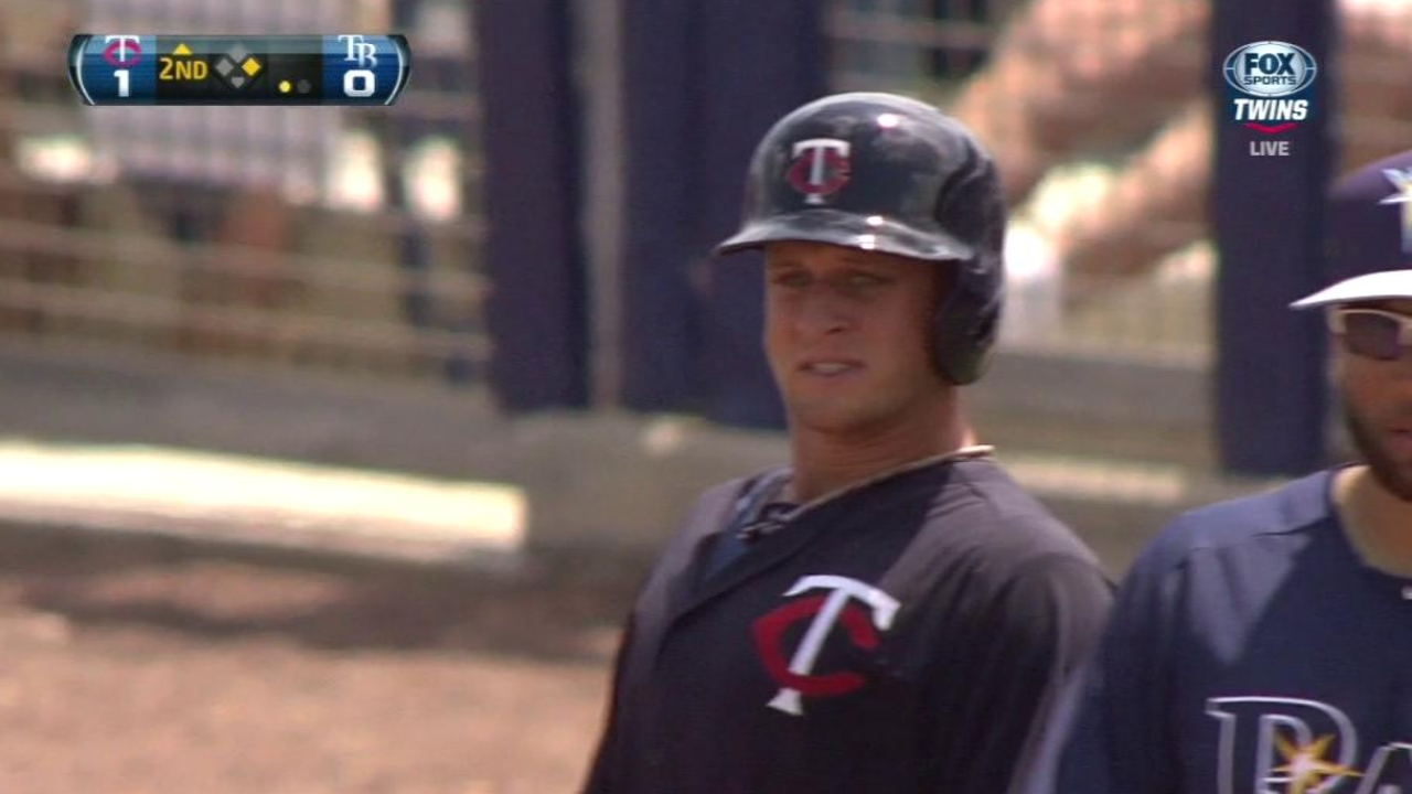 Correia uneven in outing as Twins edge Rays
