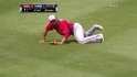 Rivero&#039;s diving catch