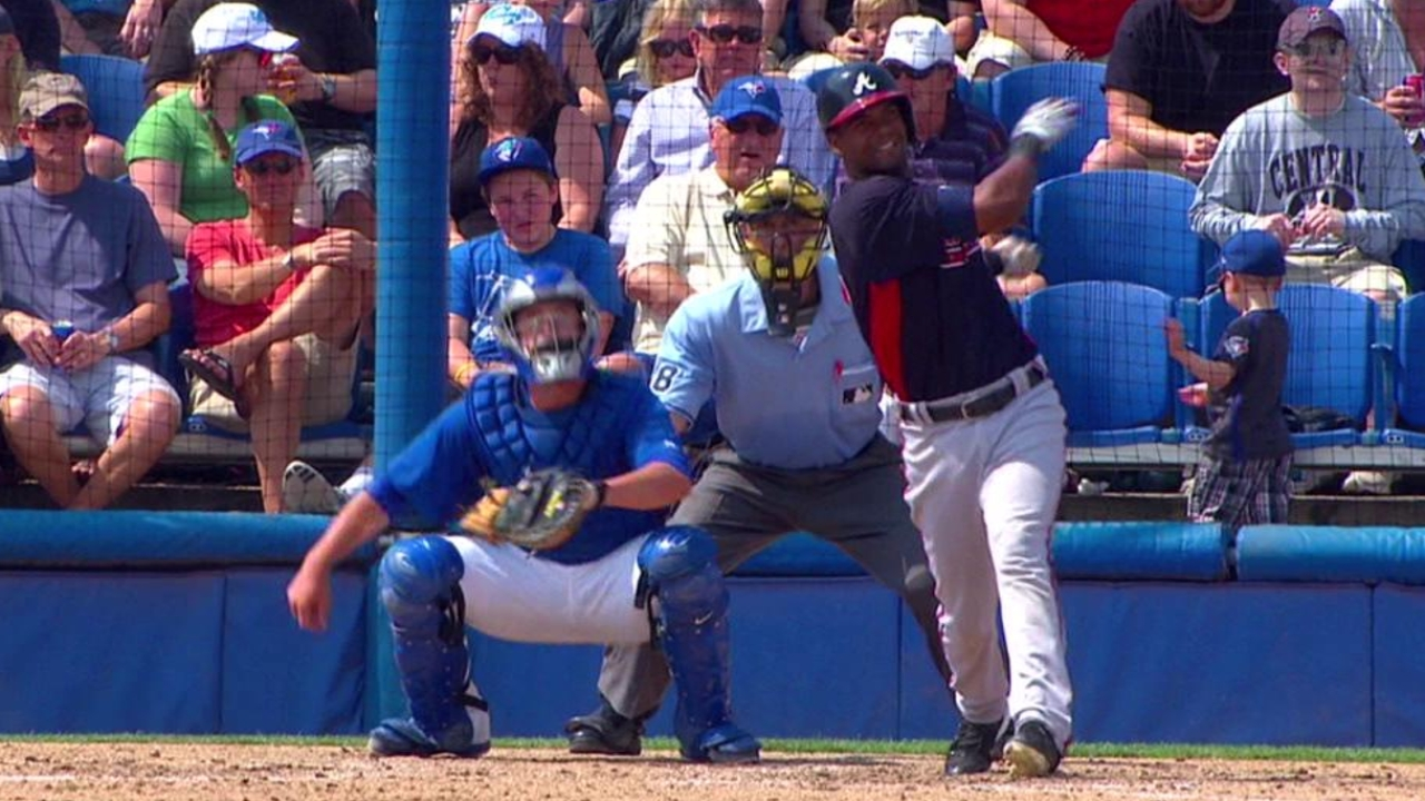 Salcedo's two late homers carry Braves to victory