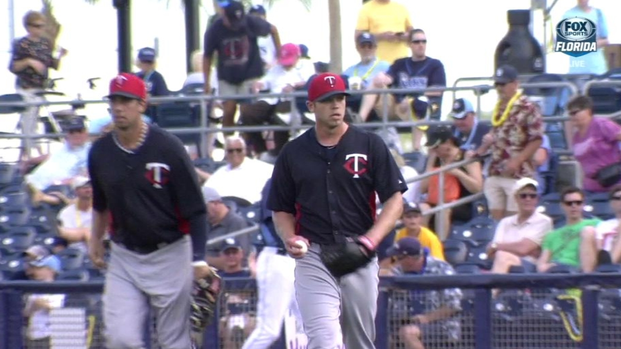 Twins option reliever Burnett to Triple-A