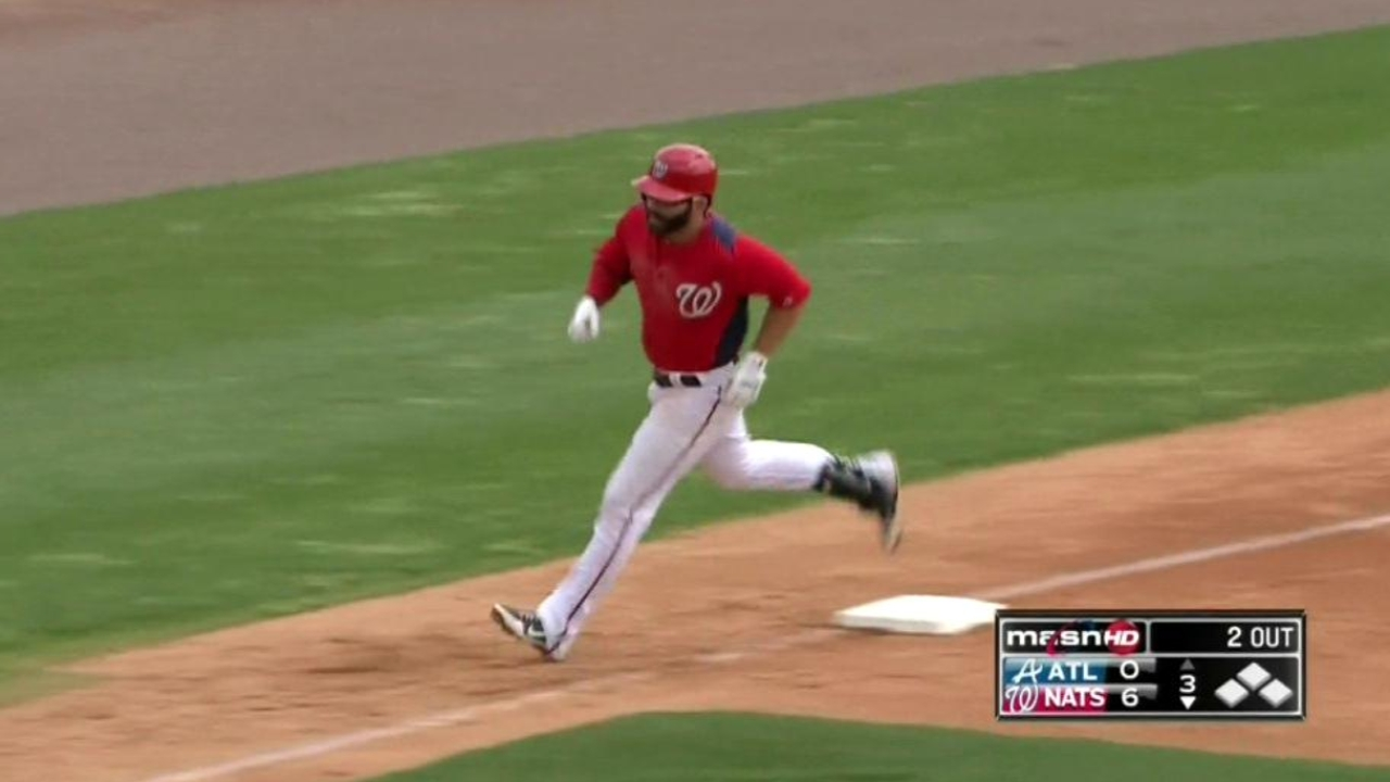 Espinosa, LaRoche and Harper pace Nats over Braves