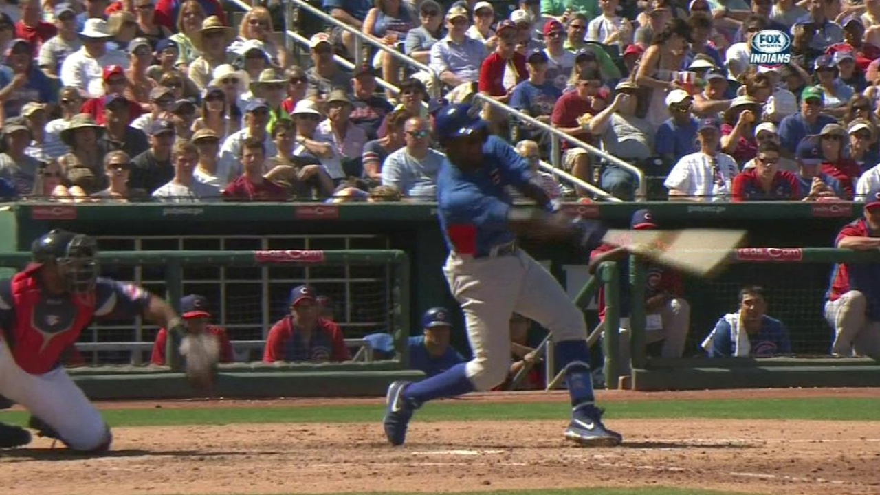 Soriano cranks RBI double as Cubs beat Tribe