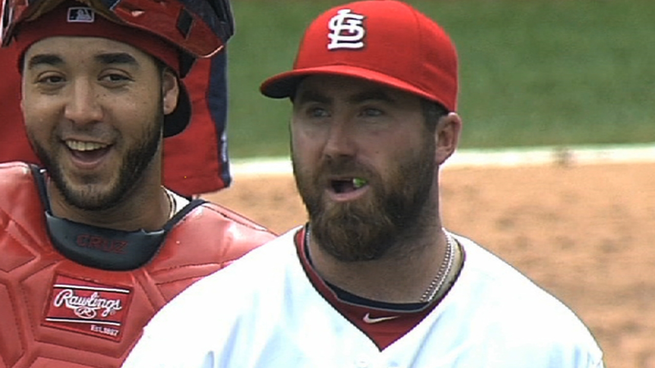 Cards bullpen in flux while Motte mends