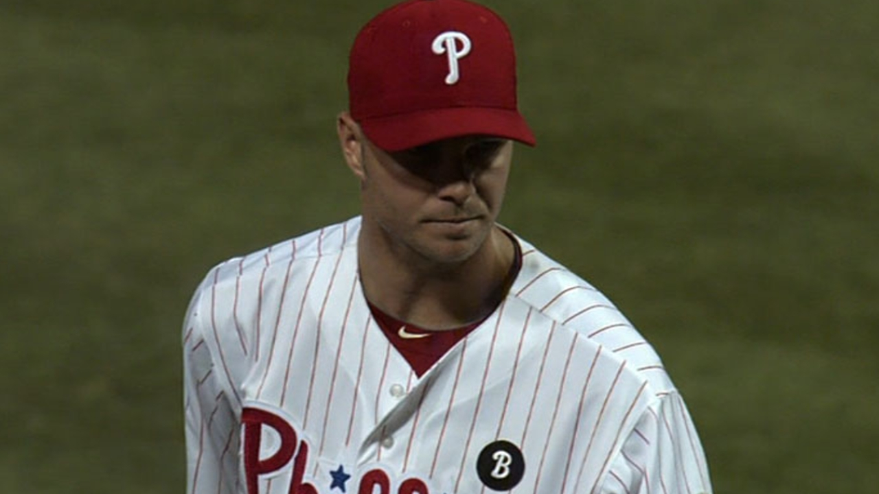 Madson increases intensity during bullpen session
