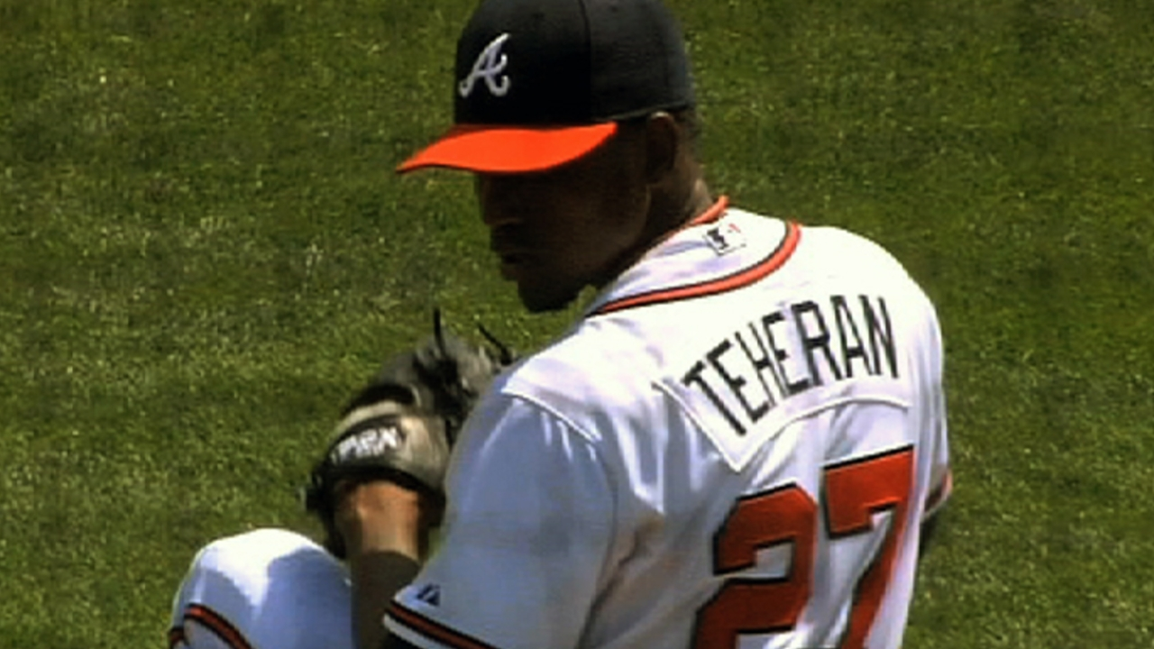 Righty Teheran out to prove himself this spring